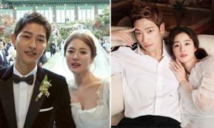 5 đám cưới được khán giả quan tâm nhất làng giải trí Hàn 2017