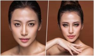 Phan Ngân The Face gợi ý hai kiểu trang điểm tone cam nude