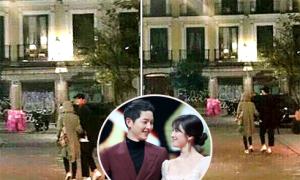 Vợ chồng Song Hye Kyo, Song Joong Ki sang Nhật kỷ niệm 1 năm ngày cầu hôn