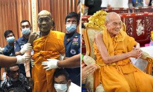 Xác nhà sư Thái Lan gần như nguyên vẹn sau hơn 2 tháng qua đời