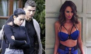 C. Ronaldo căng thẳng với người yêu giữa tin đồn gửi tin nhắn đêm khuya cho gái