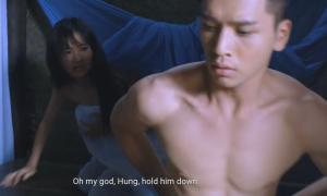Bạch Công Khanh diễn nóng cùng 'em gái mưa' Thanh Vy trong phim Tết