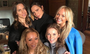 5 cô gái Spice Girls hội ngộ sau 6 năm