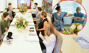 Lý Nhã Kỳ mời nhà sản xuất Pháp thăm biệt thự và đi dạo bằng du thuyền triệu USD