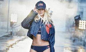 Britney Spears khoe eo thon trong ảnh quảng cáo thời trang