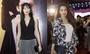 Hạ Vi gợi cảm, Trương Ngọc Ánh cá tính đi dự ra mắt phim