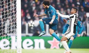 Isco, C. Ronaldo và Marcelo 'xé toang' hàng phòng ngự của Juve