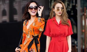 3 mẫu trang phục dạo phố được sao Việt ưa chuộng