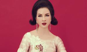 Thanh Mai toả sáng với áo dài sequins