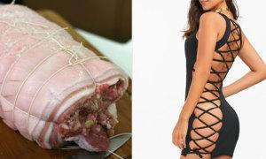 Váy bodycon khiến người mặc trông y chang 'bó giò'