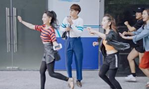 Isaac 'hóa' chàng khờ trong MV mới