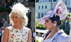 Những chiếc mũ ấn tượng tại đám cưới Hoàng tử Harry