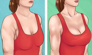 10 động tác đơn giản giúp làm nhỏ bắp tay và tăng size vòng một