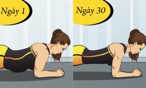 5 động tác nằm một chỗ tập vẫn giảm được số đo vòng bụng