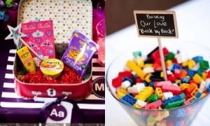 7 ý tưởng khiến khách nhí thích mê trong đám cưới