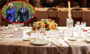 Đệ nhất phu nhân Pháp bị chỉ trích vì mua bộ bát đĩa 59.000 USD
