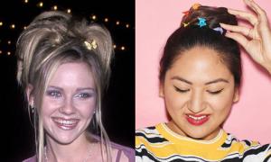 6 cách làm điệu với phụ kiện tóc từ thời 'ông bà anh'