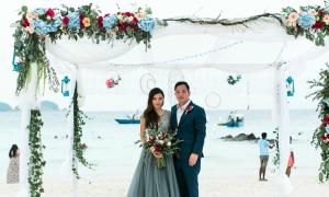 Đám cưới phong cách boho chic của uyên ương Malaysia