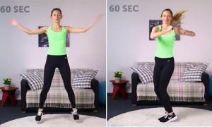 6 động tác tại chỗ giúp đánh bay mỡ thừa toàn thân