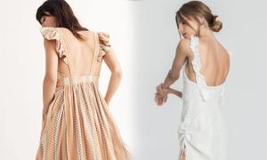 Đầm khoe lưng trần - hot trend mùa hè 2018