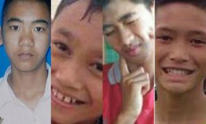 Danh tính 4 cậu bé đầu tiên được cứu ra khỏi hang