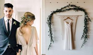 Ý tưởng trang trí đám cưới theo phong cách minimalist