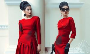 Trương Thị May ấn tượng với váy áo kiểu cổ điển