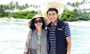 MC Vũ Mạnh Cường cùng NSND Trà Giang thăm đảo Lý Sơn