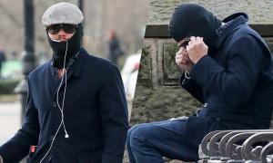 Che chắn như Ninja nhưng đến đâu Leonardo DiCaprio cũng bị nhận ra