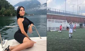 Bạn gái khoe tuyệt phẩm của con trai C. Ronaldo