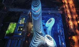 Tòa nhà mới ở Trung Quốc có hình dáng giống hệt 'của quý'