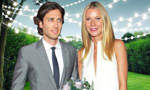 Gwyneth Paltrow tổ chức lễ cưới với người chồng thứ hai tại biệt thự riêng