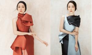 Linh Nga gợi ý chọn váy đi tiệc tôn nét yêu kiều