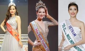 4 người đẹp giúp nhan sắc Việt Nam thăng hạng