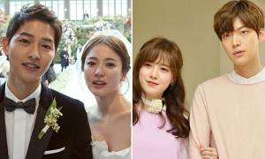 12 cặp đôi 'phim giả tình thật' đình đám của Hàn Quốc
