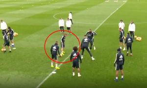 Modric phản xạ chậm khiến Benzema bị bắt lỗi