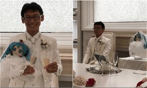 Chàng trai kết hôn với búp bê vì không tin phụ nữ