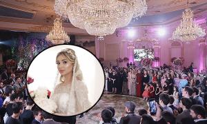 Đám cưới hàng chục tỷ đồng của cháu tài phiệt Nga và ông trùm dầu khí