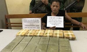 12 bánh heroin, 40.000 viên ma túy được 'tuồn' về Mộc Châu