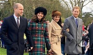 Harry - Meghan 'rời Điện Kensington vì căng thẳng với William'