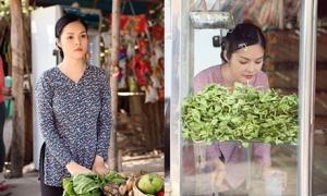 Dương Cẩm Lynh thử làm gái quê bán nước mía