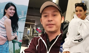 Sao Việt kinh hãi khi đi máy bay gặp bão Usagi