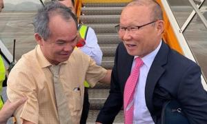 Sau chức vô địch, thầy Park vào ngay Quảng Nam gặp bầu Đức