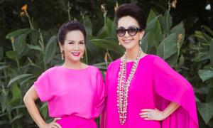 Hoa hậu Áo dài Kiều Khanh hội ngộ Diễm My tại Sài Gòn
