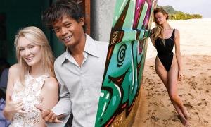 Đám cưới gây 'sốt' của chàng trai Indonesia và cô gái Anh