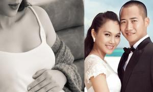 Siêu mẫu Ngọc Thạch chuẩn bị sinh con trai thứ hai