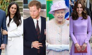 Bàn tay tiết lộ tính cách của các thành viên hoàng gia Anh