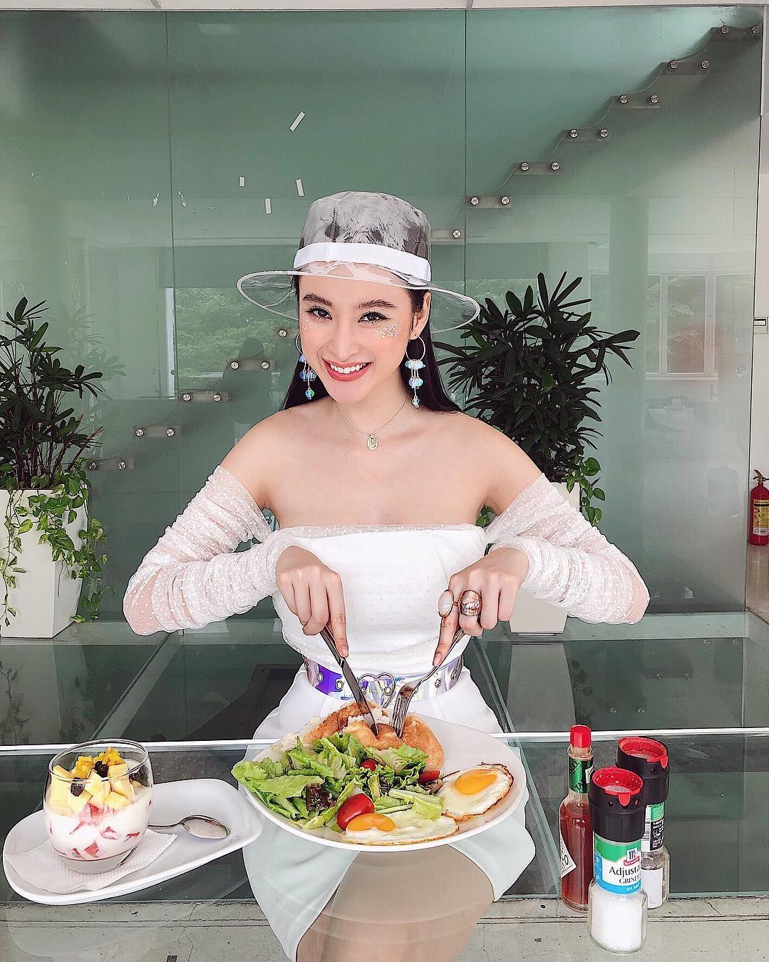 Angela Phương Trinh mê ăn thực phẩm chay để giữ dáng, dưỡng da
