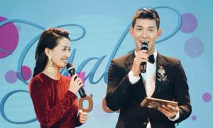 Song Luân áp lực khi dẫn chương trình cùng MC Quỳnh Chi