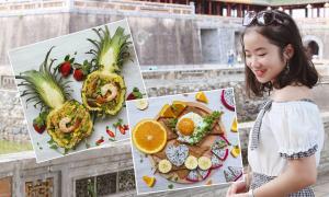 Cô sinh viên ăn ngon với 1,5 triệu đồng tiền chợ mỗi tháng